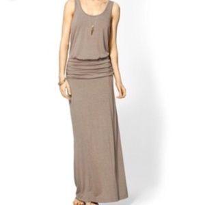 NWOT Hive & Honey Long Taupe Maxi Dress